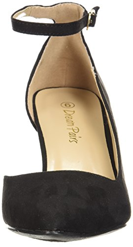 PAIRS DREAM PAIRS Womens Black DREAM Ideal Pump Pump Womens Suede Ideal URqUwS1rB