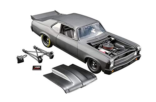 1969 Chevrolet Nova Blackout 1320 Kings Satin Black Limited Edition to 570 Pieces Worldwide 1/18 Diecast Model Car by GMP 18915