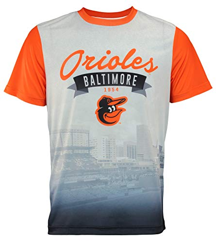 - FOCO MLB Men's Outfield Photo Tee, Baltimore Orioles Large