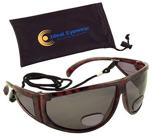 Polarized Bifocal Sunglasses by Ideal Eyewear - Sun Readers with Retention ()