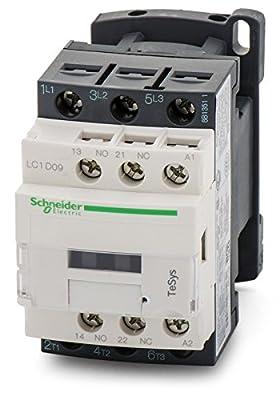 Schneider Electric Lc1d18g7 Contactor 3pst-no, 120vac, 32a, Din Rail