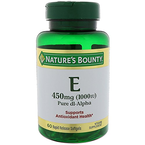 Natures Bounty Vitamin Softgels DL Alpha