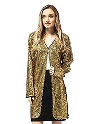 Open Front Sequin Coat Las Vegas Blazer