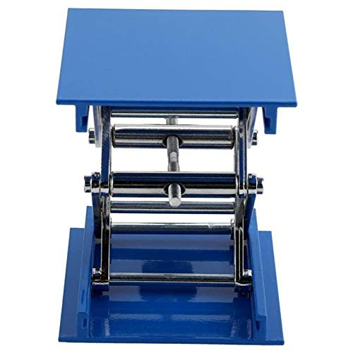 WG Aluminum Router Lift Table Engraving Lab Lifting Stand Rack Lift Platform Sculpture Lifting Bracket for Woodworking