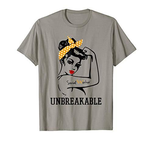 Social Worker Unbreakable t-shirt