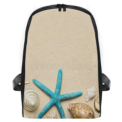 Sea Shells On Sand School Backpack For Boys Kids Primary School Bags Children Backpacks ()