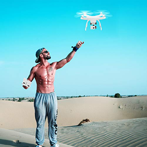 UPair One Quadcopter Drone with 2.7K HD Camera 7 inch FPV Screen Live Video with Altitude Hold, Headless Mode and GPS One Key Return Home