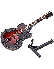 Klasik Gitar Modeli Minyatür Replika Mini Gitar Modeli Süsler Müzik Enstrüman Dekor Koleksiyonu Hediye