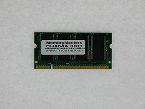 CH654A 256MB Memory Module FOR HP Hewlett Packard Designjet 510/ 510ps (MEMORY MASTERS) - Designjet 510 Printer