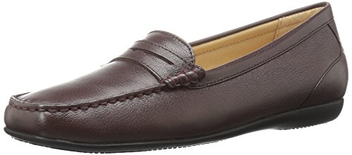 Trotters Womens Staci Penny Loafer Burgundy