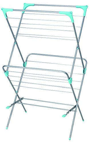 Home Basics 2-Tier Clothes Dryer Drying - Standing Floor Dryer
