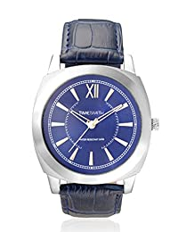 TimeSmith Limited Edition Blue Dial Blue Genuine Leather Watch for Men TSM-095