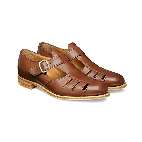 Sons Sandale in T Grün Bar Cheaney Conker aus Kalbsleder brüniertem Damen Belle Joseph Hfqp5Cf
