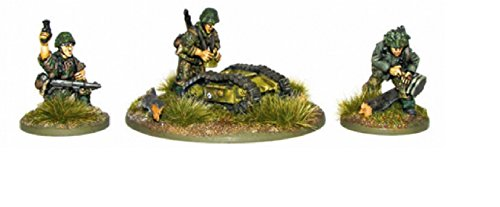 1943-45 Waffen-ss Pioneers Miniatures
