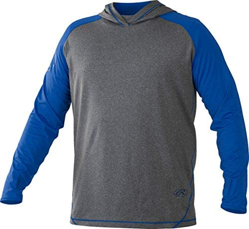 Rawlings Hlwh-gr/r-88 Sweat à Capuche pour Homme Graphite/Royal Taille S