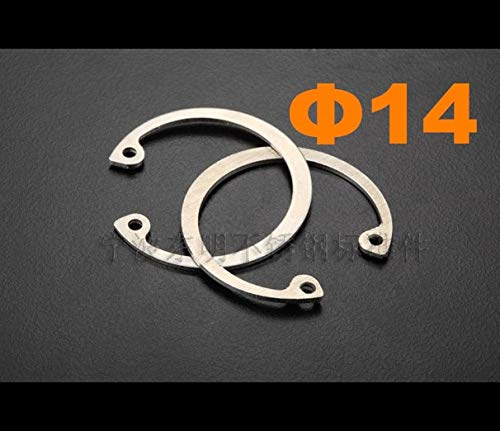 Circlips for bores Ochoos 500pcs//lot DIN472 Size 14mm Stainless Steel Internal retaining Ring SUS304