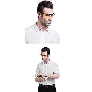 SOXICK HD Polarized Night Driving Glasses Anti Glare Safety Glasses (Black1)