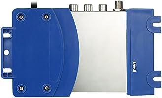 KKmoon Modulador compacto de RF Audio Video Convertidor de TV Amplificador de señal UHF RHF AC230V: Amazon.es: Bricolaje y herramientas