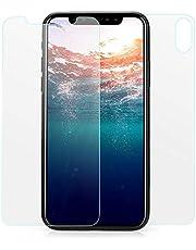 VAPIAO [Panzerglasfolie Hinten und Vorne [Front and Back] kompatibel mit iPhone X, Xs Panzerglas 9H 3D Curve Glasprotektor Glasfolie Clear Glas Schutzfolie Echtglas