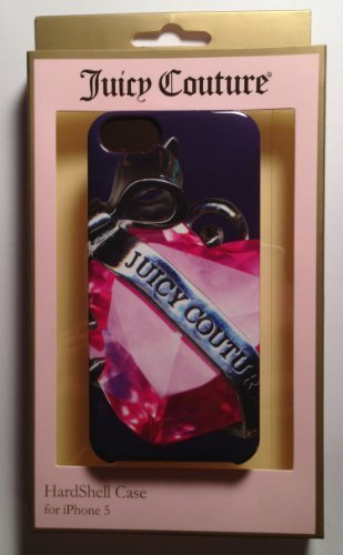 Juicy Couture Banner Heart Hard Case Snap-on Shell Cover For Apple iPhone 5/5s/SE ()