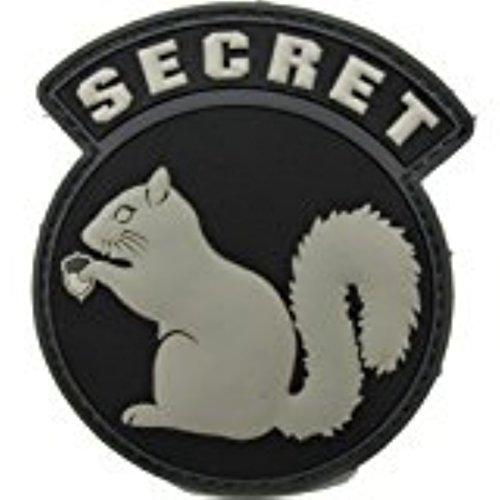 Secret Squirrel Morale Patch - PVC (Black (Swat Police Patch)