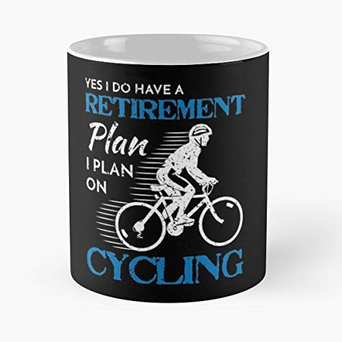 Bicycle Cycling Cyclist Humor - Funny Gifts For Men And Women Gift Coffee Mug Tea Cup White 11 Oz.the Best Holidays.