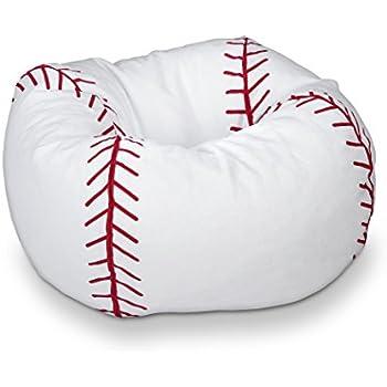 Michael Anthony Furniture Baseball Matte Bean Bag