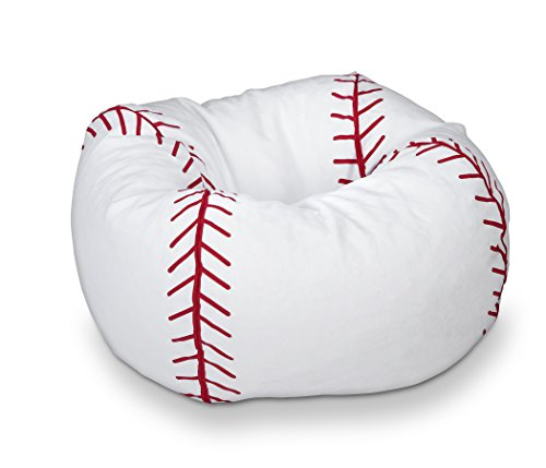 Michael Anthony Furniture Baseball Matte Bean Bag