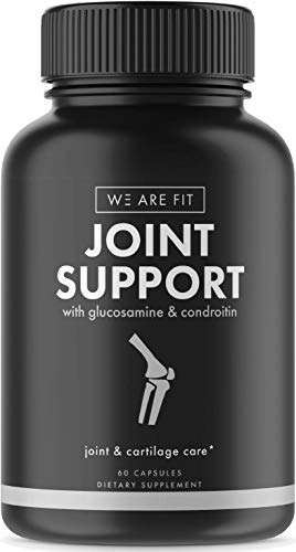 Cheap Joint Support Extra Strength Supplement, Ease Joint Pain – Promote Cartilage Longevity, Joint Mobility and Flexibility with Glucosamine Chondroitin Turmeric MSM Boswellia, 60 Veggie Caps