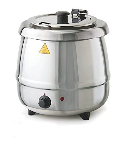 Glenray 1021806 Soup Kettle, 400W, 10.5 sq. ft, Stainless Steel