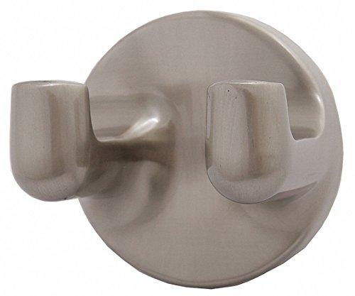 Taymor 04-SN7902 Maxwell Series Double Robe Hook, Satin Nickel