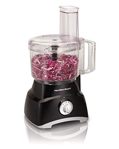 Hamilton Beach 70740 8-Cup Food Processor, Black Renewed