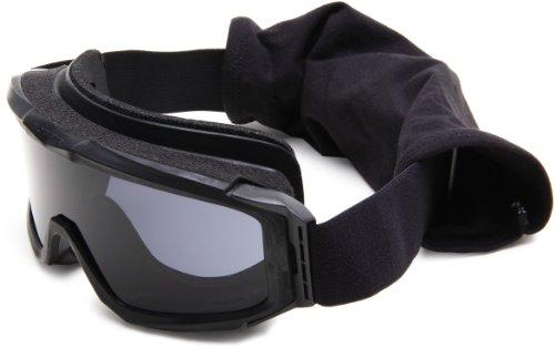 Bobster Alpha Ballistics Goggles, Black Frame/Smoke & Clear Lenses by Bobster Eyewear (Image #1)