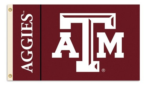 NCAA Texas A&M Aggies 3-by-5 Foot Flag with Grommets ()