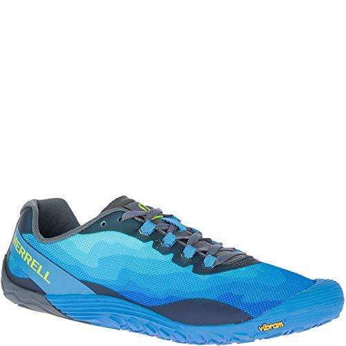 Merrell Men's Vapor Glove 4 Sneaker, mediterranian Blue, 09.5 M US