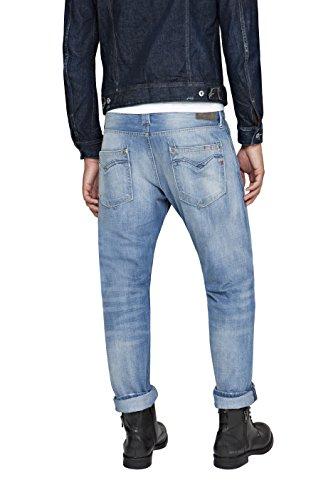 Azul Newbill Denim Hombre para REPLAY Blue 10 Pantalones wqRISx6