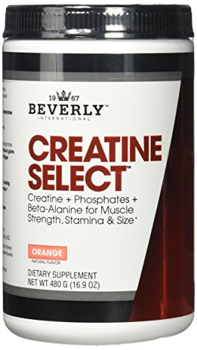Beverly International Orange Creatine Select Workout Powder, 480 Gram