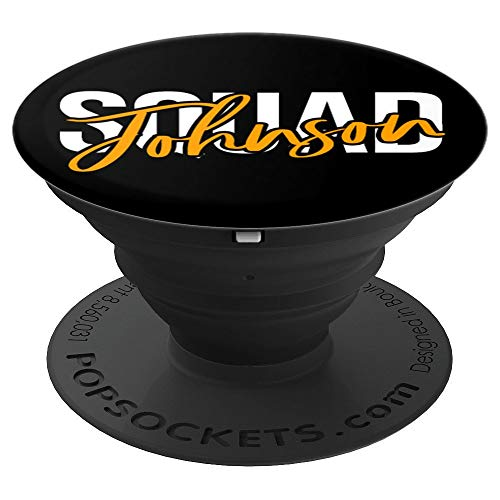 Reunion and Family Names of the Johnson Family Tree  PopSockets Grip and Stand for Phones and Tablets