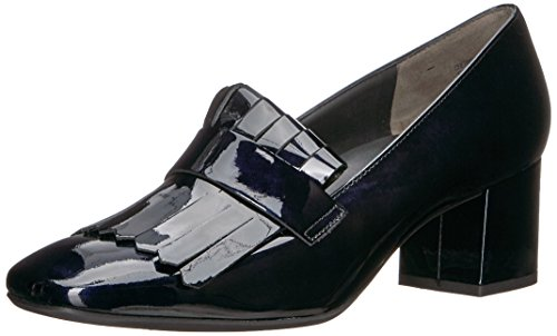 Paul Green Womens Ness Kilty Pump Acciaio Blu Brevetto