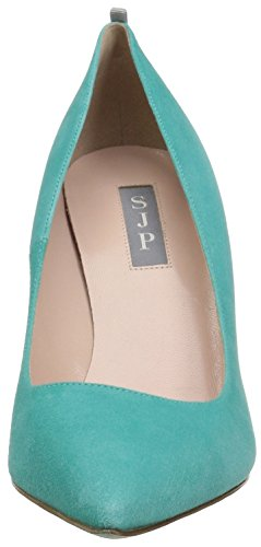 Parker Tacco Fawn by Donna Jessica Suede Turchese Sarah Teal Mintchip SJP Scarpe con xnt0TRRU