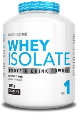 Nutricore Whey Isolate - 1000gr aislado de proteína de suero ...