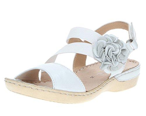 Sandalette Caprice 42 Damen Gr Weite 38 White H Perlato Leder 37 Cw5rwOqxPS