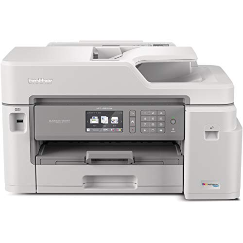 Brother Inkjet Printer, MFC-J5845DW, INKvestment Color Inkjet All-in-One Printer with Wireless, Duplex Printing and Up…