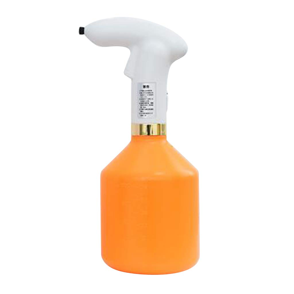 Homyl Touch Control Spray Pot Plastic Watering The Flowers Water Spray For Plants Electric Watering Pot Andriod USB Charging - Orange