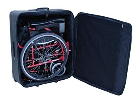 Troy Technologies | Compact Wheelchair Travel Bag - Protects and Fits Most Wheelchairs