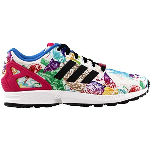 d20a2935d adidas Womens ZX Flux Athletic   Sneakers White - Import It All
