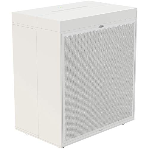 Air Oasis iAdaptAir Purifier (S), Perfect for Allergies, Pets, Smokers, Mold - with HEPA Filter, Carbon Filter, UVC, Ionizer