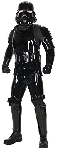 Rubie's Costume Co. Men's Star Wars Supreme Edition Shadow Trooper Costume, Black, X-Large