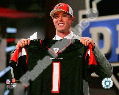 Matt Ryan Draft Day - 2008 NFL Draft # 3 Pick - Art Print