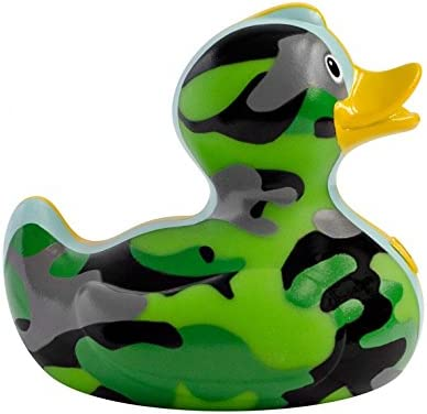 Bud Duck ~ Collectible Deluxe Rubber Duck ~ POP DOT by Bud Duck